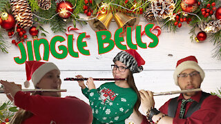 Jingle Bells Flute Trio | Jingle Bells Flute Cover | Flute Christmas Music