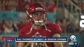 Lane Kiffin names former Dwyer star Daniel Parr as Owls' starting QB - Video