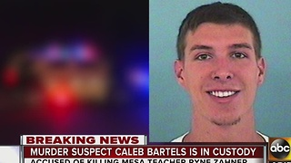 Tempe shooting suspect, Caleb Bartels, arrested in California - Video