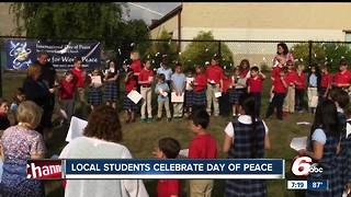 Students from St. Susanna School celebrate International Day of Peace - Video