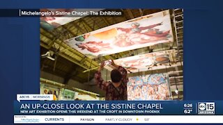"""""""Michelangelo's Sistine Chapel: The Exhibition"""" is coming to downtown Phoenix"""