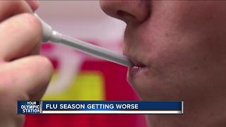 Wisconsin flu-associated hospitalizations remains steady - Video
