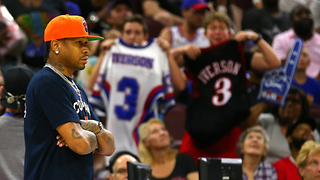 Allen Iverson Fans PISSED After Skipping Big3 Philly Homecoming Game - Video