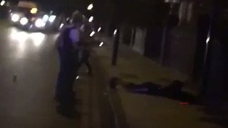 Police Detain Man Outside London Central Mosque - Video