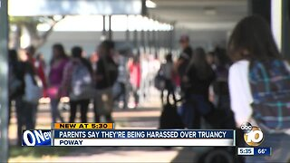 Parents say they are being harassed over truancy