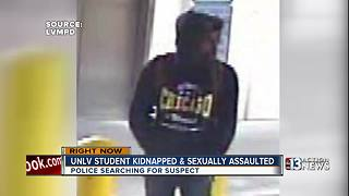 Police looking for suspect in UNLV kidnapping and sexual assault - Video