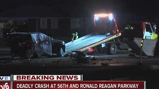 One dead, two injured in multi-vehicle crash in Brownsburg - Video