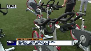 Beacon Park grand opening celebrations continue - Video
