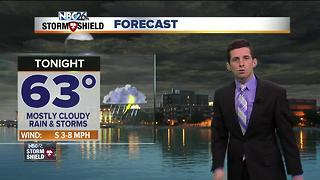 More rain and storms tonight - Video