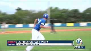 Jupiter vs Park Vista HS baseball