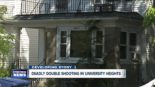 Deadly double shooting in University Heights