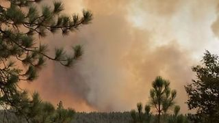 Residents Evacuated as Cranston Fire Burns Thousands of Acres in California - Video
