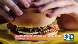 Whataburger has some holiday hacks to save time and reduce stress