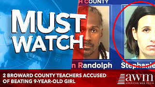 2 BROWARD COUNTY TEACHERS ACCUSED OF BEATING 9-YEAR-OLD GIRL IN BOYNTON BEACH - Video