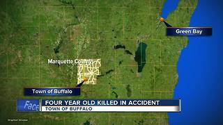 Four-year-old girl dies after horse drawn wagon accident in Marquette County - Video