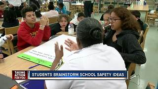 Hillsborough County middle school students asked to brainstorm school safety ideas - Video