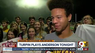 Turpin, Anderson gear up for Friday's football rivalry - Video