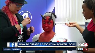 How to create a spooky Halloween look at home