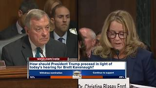 Reaction to Kavanaugh hearing