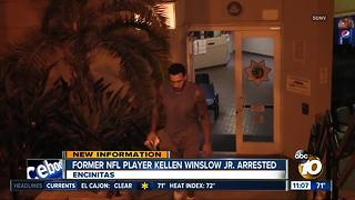 Former NFL player Kellen Winslow Jr. arrested - Video