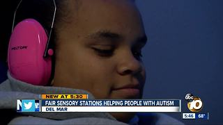 San Diego Fair offering sensory-sensitive individuals free toolkits, stations - Video