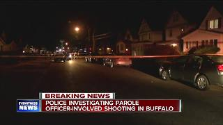 Developing: Parole officer shoots suspect in leg - Video