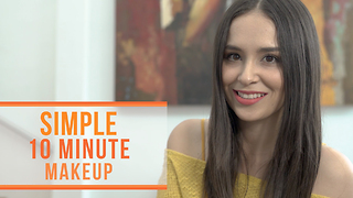 Simple 10 minute makeup - Video
