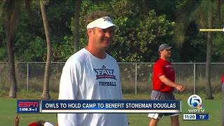 Lane Kiffin and FAU to hold camp to benefit Stoneman Douglas - Video