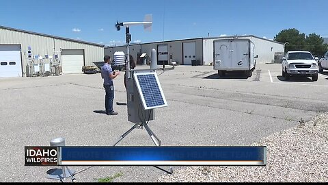 Remote weather stations help fire teams across the country