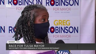 Race for Tulsa Mayor: Watch party for Greg Robinson