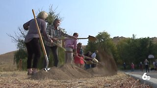 Construction starts on Hillside to Hollow trailhead