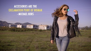 Accessories are the exclamation point of women - Michael Kors - Video