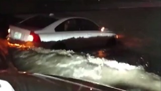 Flash Floods Cripple Major Roadways in Kansas City - Video