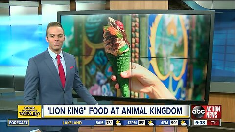Disney's Animal Kingdom celebrates 'The Lion King' with special summer food items