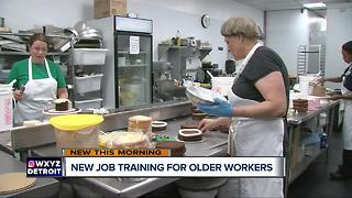 Company offering new job training for older workers - Video
