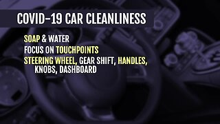 COVID-19 Car Cleanliness