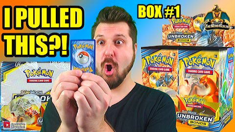 Pokemon Unbroken Bonds Booster Case Opening (Box 1) (Charizard Hunting)