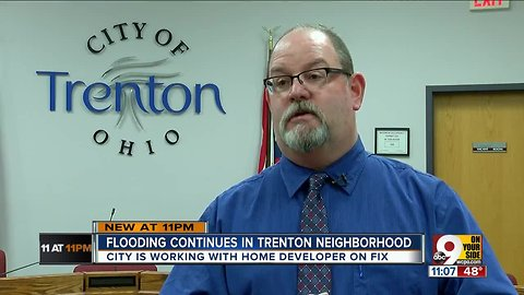 Trenton city manager vows to help drain flooded backyards