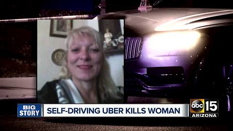 Self-driving Uber hits and kills woman in Tempe