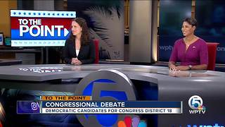 Congressional Debate - Democratic candidates for Congress District 18 - Part 1 - Video