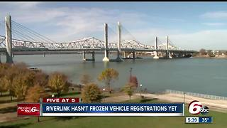 Vehicle registrations haven't been frozen yet for unpaid tolls - Video