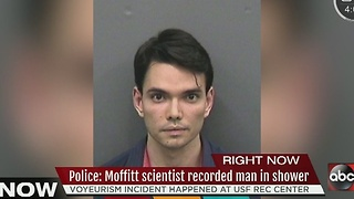Police: Moffitt scientist recorded man in the shower at USF Rec Center - Video