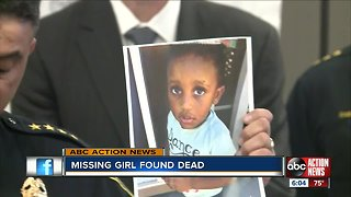 Missing 2-year-old girl from Wisconsin found dead, family member says