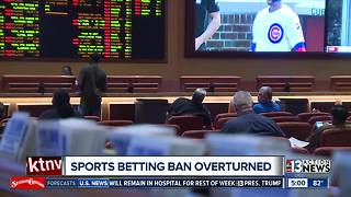 Reaction to Supreme Court decision about sports betting - Video