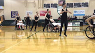 Wonders on Wheels dance team perform heartwarming routine to Celine Dion - Video