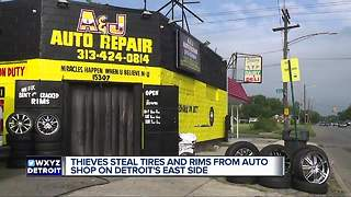 Auto repair owners speak out after being robbed thousands of dollars