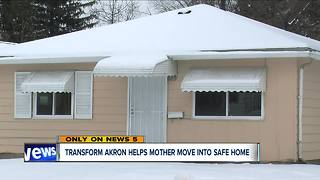 Transform Akron moves family into new home following repeated sewage problems at apartment - Video