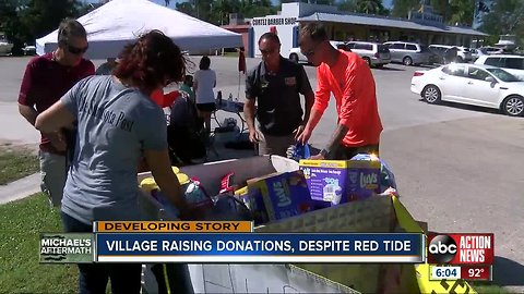 Cortez Fishing Village business owners give back to Hurricane Michael victims