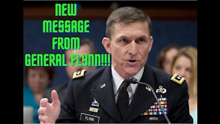 New Message from General Michael Flynn!!!