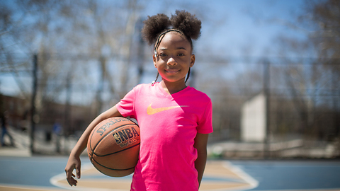 The 8-Year-Old Basketballer Shooting For The Stars | KICK-ASS KIDS